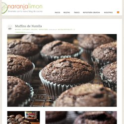 Muffins de Nutella @ NaranjaLimon
