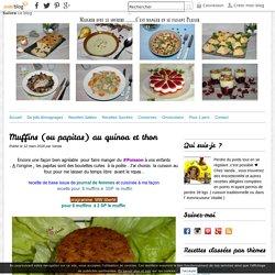 Muffins (ou papitas) au quinoa et thon