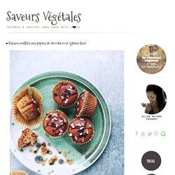 ►Banana muffins aux pépites de chocolat noir (gluten free)