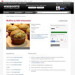 Muffins au kéfir et bananes