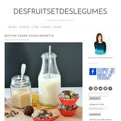 Muffins vegan choco-noisette