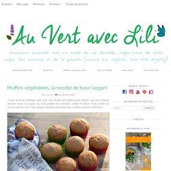 Muffins végétaliens, la recette de base