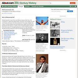 Muhammad Ali - Biography of Muhammad Ali