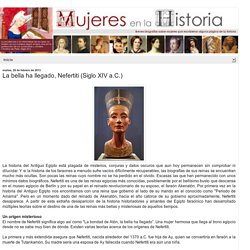 La-bella-ha-llegado-nefertiti-siglo-XIV