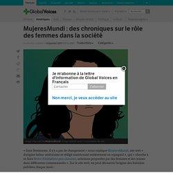 MujeresMundi : des chroniques sur le rôle des femmes dans la société