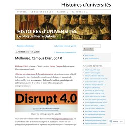 Mulhouse. Campus Disrupt 4.0
