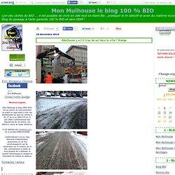 #Mulhouse y a t-il trop de sel dans la ville ? #neige