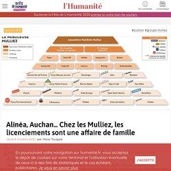 8 oct. 2020 - Alinéa, Auchan... Chez les Mulliez, les licenciements sont une affaire de famille
