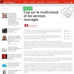 Cap sur le multi-cloud et les services managés