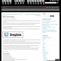 Multi-cuenta DropBox