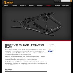 Multi-Plier 600 Basic - Needlenose Black