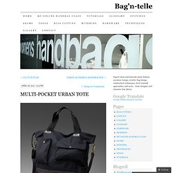 MULTI-POCKET URBAN TOTE
