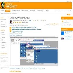 Multi RDP Client .NET
