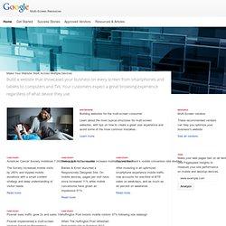 Multi-Screen Resources – Google