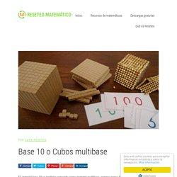 Base 10 o Cubos multibase - Reseteo Matemático