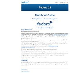 Multiboot Guide