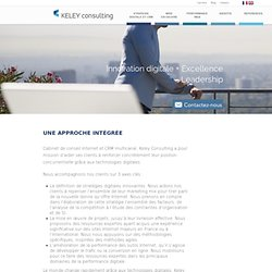 Keley Consulting - Conseil Internet, CRM, multicanal, Relation Client