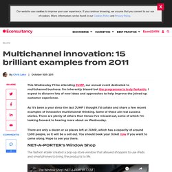 Multichannel innovation: 15 brilliant examples from 2011
