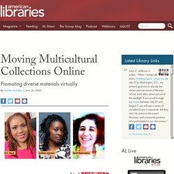 Moving Multicultural Collections Online