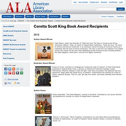 Coretta Scott King Book Award Recipients