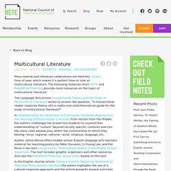 Multicultural Literature - NCTE