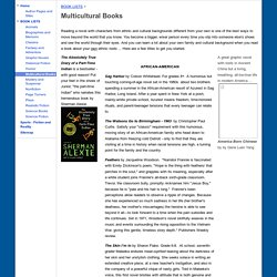 Multicultural Books - Middle School Reading