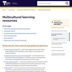 Multicultural learning resources