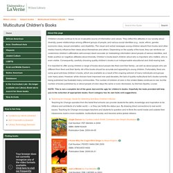 Home - Multicultural Children's Books - Subject Guides at University of La Verne
