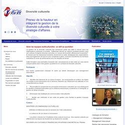 Gérer les équipes multiculturelles : un défi au quotidien - Cabinet Conseil RHRE