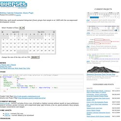 com.overset.dev» Blog Archive » Multiday Calendar Datepicker J