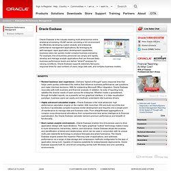 Oracle - Essbase