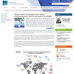 Allô les marques ? L'émergence d'une relation multidimensionnelle entre les internautes et les marques - Ipsos OTX