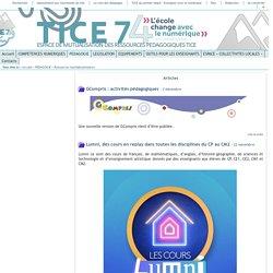 Tice 74 - Site des ressources pédagogiques TICE - Ressources multidisciplinaires