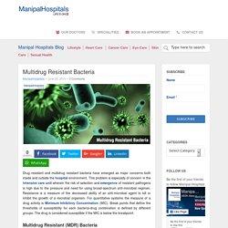 Multidrug Resistant Bacteria