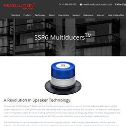 SSP6 MultiducersTM - Revolution Acoustics