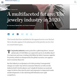 A multifaceted future: The jewelry industry in 2020