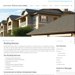 Commercial & Multifamily Professional Roofing Services TX
