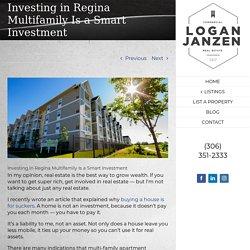 Investing in Regina Multifamily Is a Smart Investment – Logan Janzen, Sales Representative