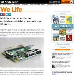 Multifonction et écolo, cet ordinateur miniature ne coûte que 35 euros