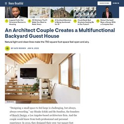 Bunch Design Creates a Multifunctional Backyard Guest House