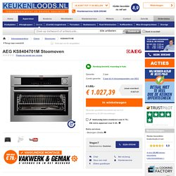KS8404701M Aeg multifunctionele solo-oven%2Bstoomoven - Keukenloods.nl