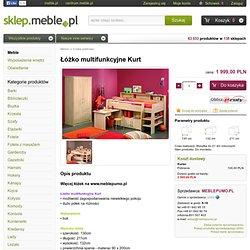 łóżko multifunkcyjne kurt, PUMO MEBLE - SKLEP.meble.pl