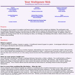 multigenre research paper