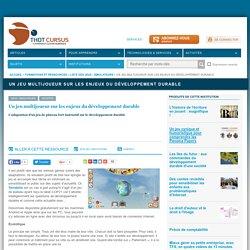 Un jeu multijoueur sur les enjeux du développement durable