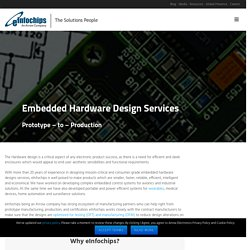 PCB Board and Embedded Systems Design Services