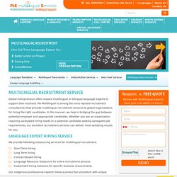 Multilingual Recruitment Agency-Piemultilingual