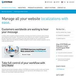 SYSTRAN – Translation Technologies