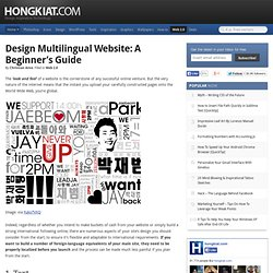 Design Multilingual Website: A Beginner's Guide