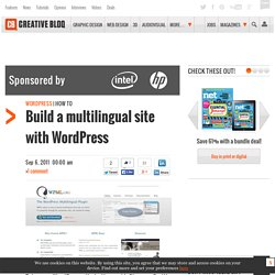 Build a multilingual site with WordPress