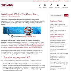 Multilingual SEO for WordPress Sites